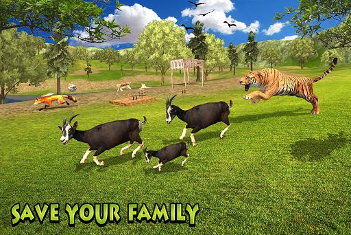 Télécharger Crazy Goat Family Survival APK MOD 2
