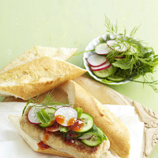 Asian Seafood Sandwich