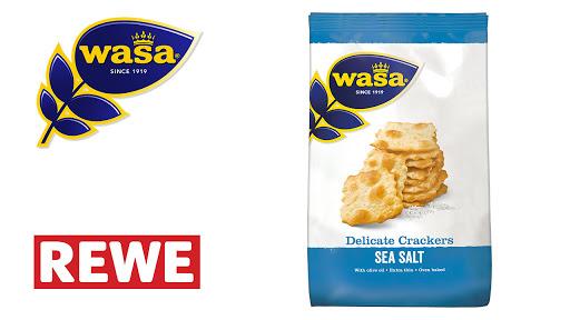 Bild für Cashback-Angebot: Wasa Delicate Crackers Meersalz - Wasa