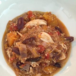 Hearty Quinoa & Chicken Stew