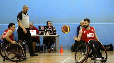 Photo: Photo taken during the match between CELTS 1 and Birmingham Blackcats at Talybont Sports Centre, Cardiff Uni on 15 Feb 2015