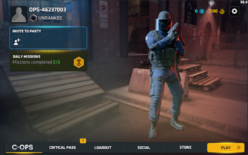 Critical Ops: Multiplayer FPS Screenshot