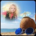 Beach Photo Frame icon