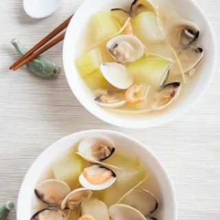 Winter Melon Clam Soup.