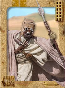 William 'Stokes' Stokes - Tusken Raider: ANH (male)