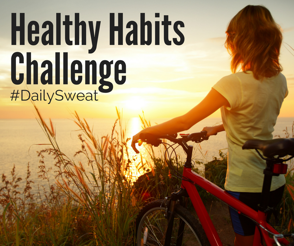 healthy habits challenge, fitness challenge, free fitness challenge