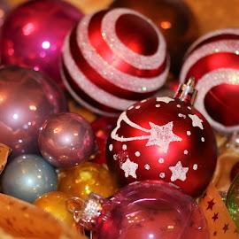 christmas tree balls by Carola Mellentin - Public Holidays Christmas (  )