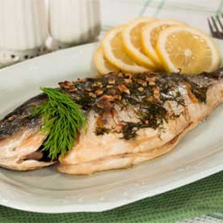 Baked Marinated Whole Sea Bream