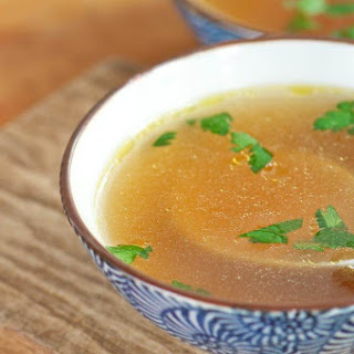 Chicken Soup with Carrot and Onion