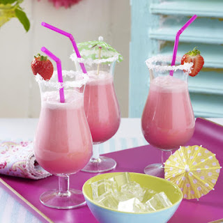 Strawberry-Coconut Coolers
