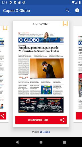 Capas Jornal O Globo 2.5.1 screenshots 2