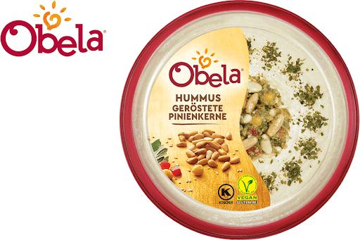 Bild für Cashback-Angebot: Obela Hummus Geröstete Pinienkerne - Obela
