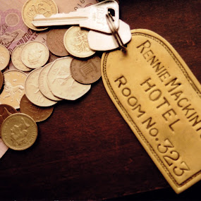 Pocket Contents by Dan Allard - Artistic Objects Other Objects ( scotland, uk, coins, keys, pounds, pwccoins, glasgow, money, quid, hotel,  )