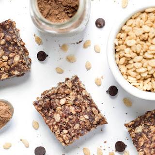 Chocolate Peanut Butter Vegan Rice Crispy Treats Recipe
