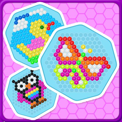 Mosaic Hex Puzzle 2