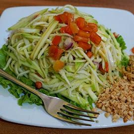 Sambel Mangga by Mulawardi Sutanto - Food & Drink Plated Food ( sambel mangga, lezat, thailand, travel, resto, food, bandung )