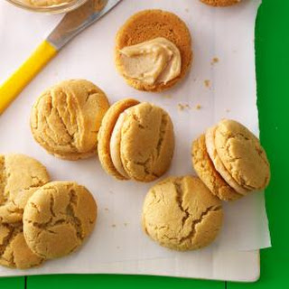 Mini Peanut Butter Sandwich Cookies.