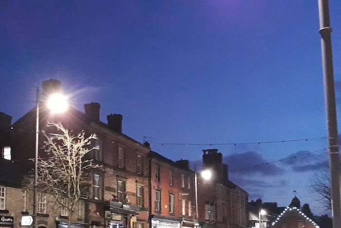 Newtown street lighting switch off shelved