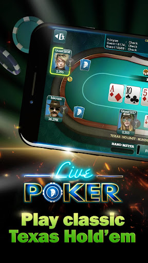 Live Poker Tablesu2013Texas holdem and Omaha  screenshots 1