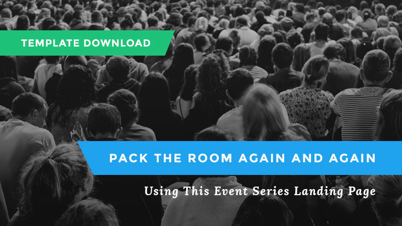 Free Landing Page Template For Your Event Series - Event landing page template free