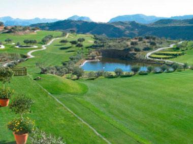 Golf 18 holes at Hotel Antequera