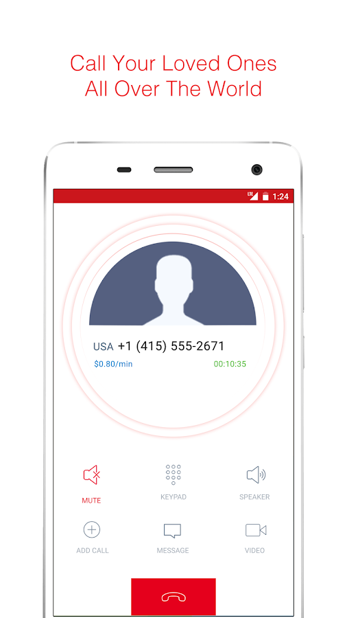 airtel talk: global VoIP calls- screenshot