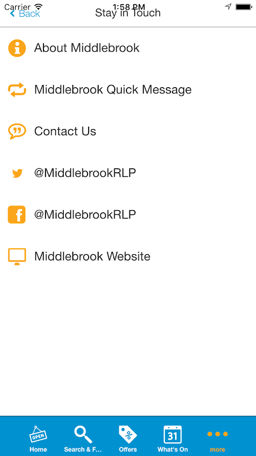 Middlebrook Retail&LeisurePark- screenshot