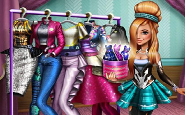Tris Superstar Dolly Dress Up H
