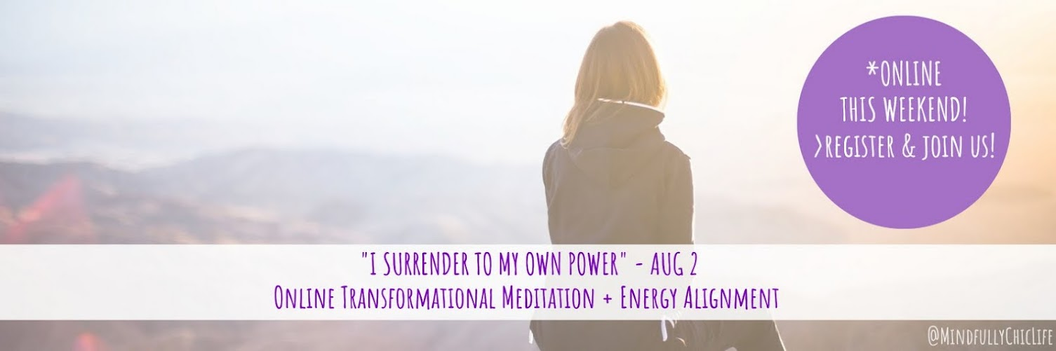 """I Surrender To My Own Power"" 