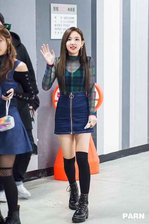 nayeon plaid 50