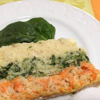 Passover Gluten Free Gefilte Fish Terrine.