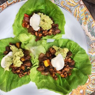 Low-Carb Tempeh Tacos.