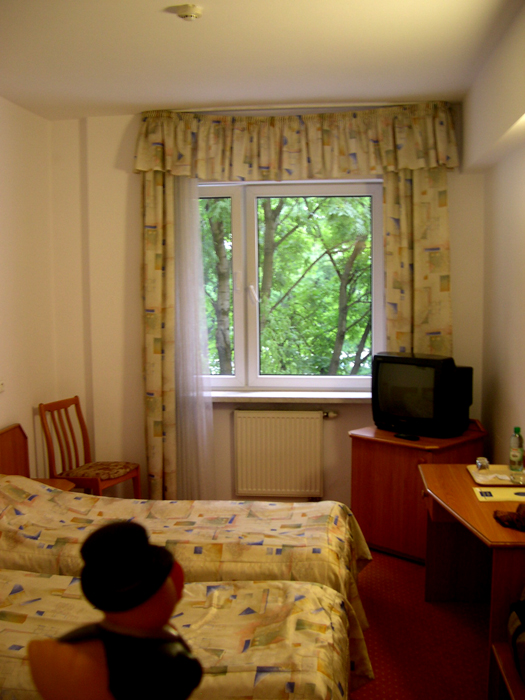 Photo: my hotel room in krakow