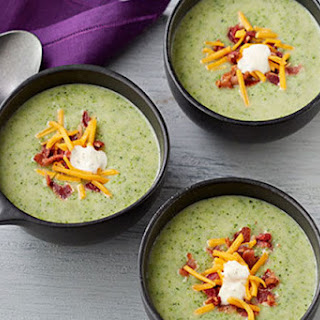 Cream of Broccoli & Potato Soup