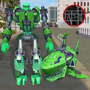 Robot Shark Attack: Transform Robot Shark Games