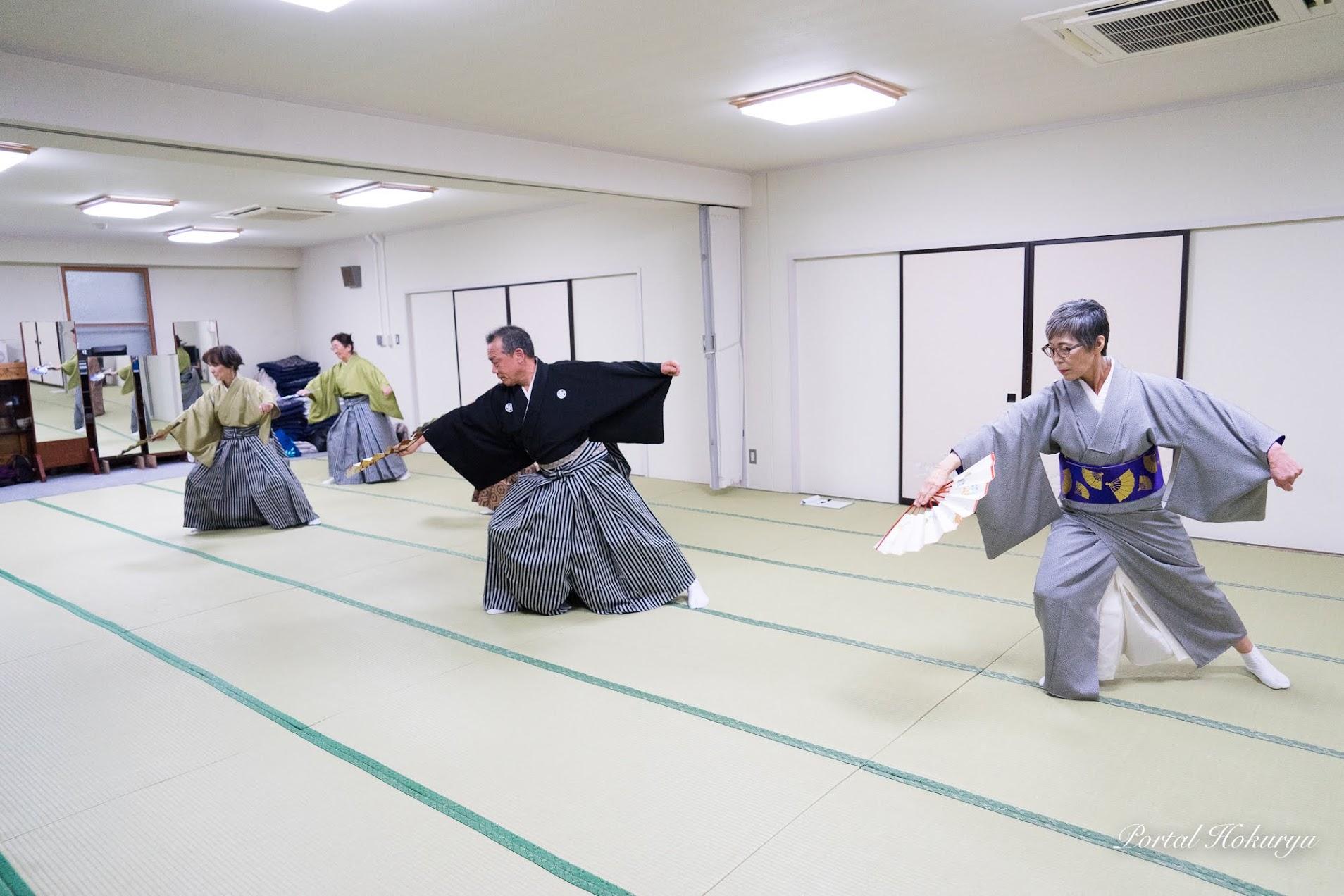 黒田節の模範演技