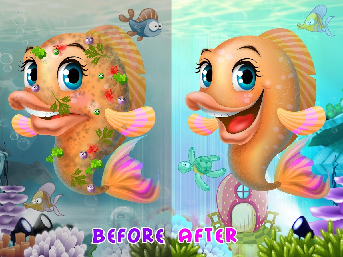 cute fish adventures android apps on google play