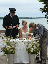Photo: Renewal of Vows on Lighthouse Deck