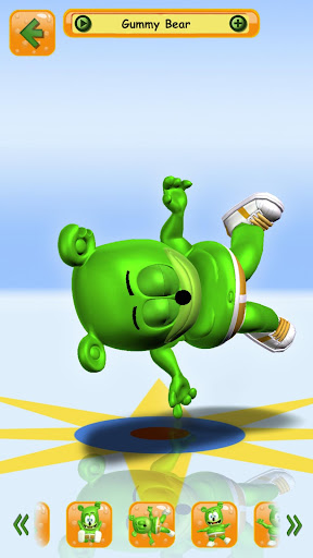 Talking Gummy Free Bear Games for kids 3.2.8.5 screenshots 2