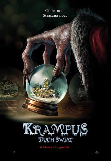 Polski plakat filmu 'Krampus. Duch Świąt'