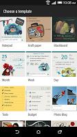 screenshot of HTC Scribble
