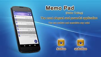 Memo Pad (Notes Taking)