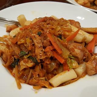 닭갈비 (Dak Galbi - Korean Spicy Chicken)