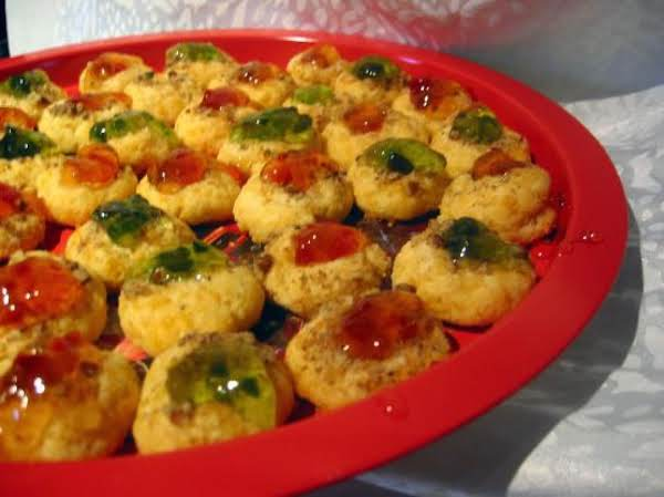Savory Thumbprint Cookies Recipe