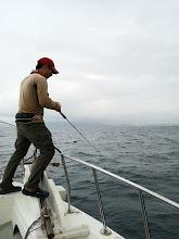 """Photo: いつもありがとうございます!乗船率NO.1の""""ササノさん""""ヒーット!"""