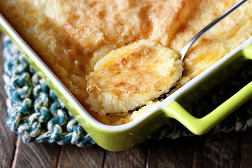 Click Here for Recipe: Baked Garlic Cheese Grits