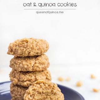 Peanut Butter Oat & Quinoa Cookies