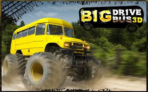Big Bus Driver Hill Climb 3D screenshot