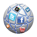 Social Media Apps All In One icon