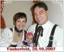 Photo: Familie Stengel Tauberfeld, Foto aufgenommen am 28.10.2007 im Gasthof Stark